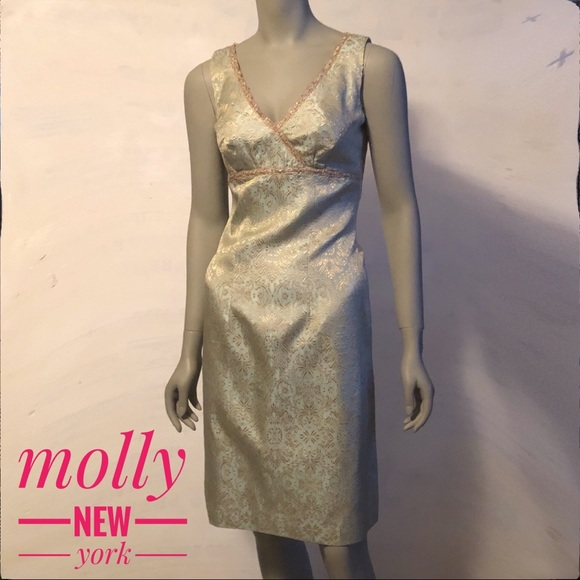Molly New York Dresses & Skirts - Anthropologie Molly New York Cocktail Sheath Dress